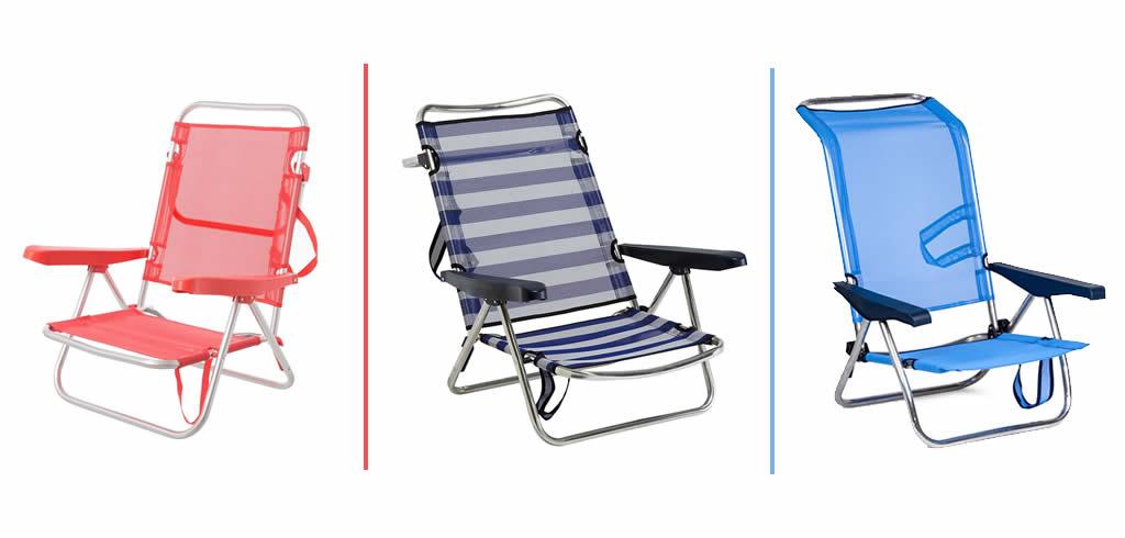 Comprar sillas de playa aluminio