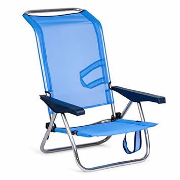 comprar Solenny silla de playa de aluminio